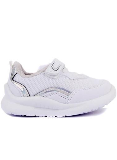 Cool 20-S29 Beyaz Erkek-Kız Çocuk Bebe Günlük Spor Ayakkabı Beyaz